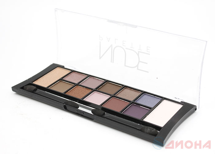 "Triumf Тени для век палитра ""12 Nude Pallette Eyeshadow"" тон02C Coloured Nudes"
